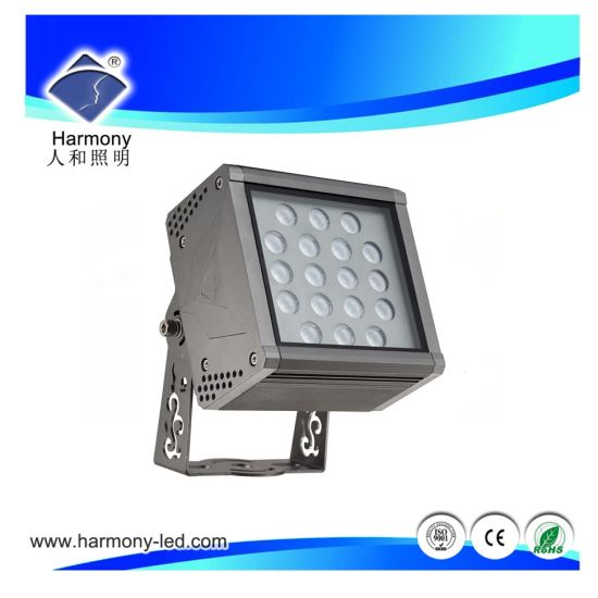 AC85-265V W / WW 18W LED Lámpara de inundación LED